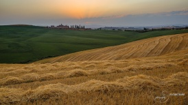 Sonnenuntergang im Val D'Orcia 2